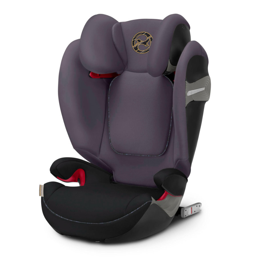 cybex GOLD Silla de coche Solution S-Fix Premium Black