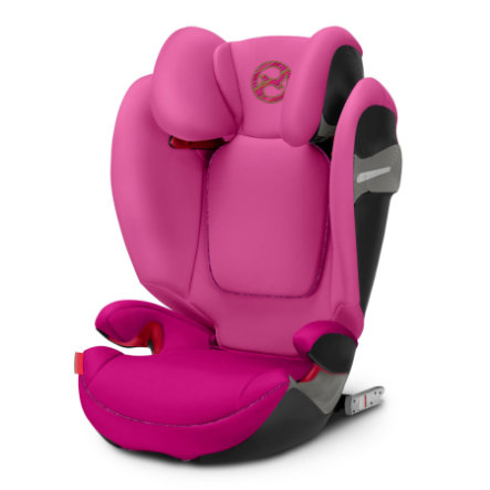 cybex Bilbarnstol Solution S-Fix Fancy Pink