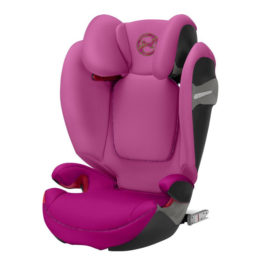 cybex GOLD Silla de coche Solution S-fix Fancy Pink