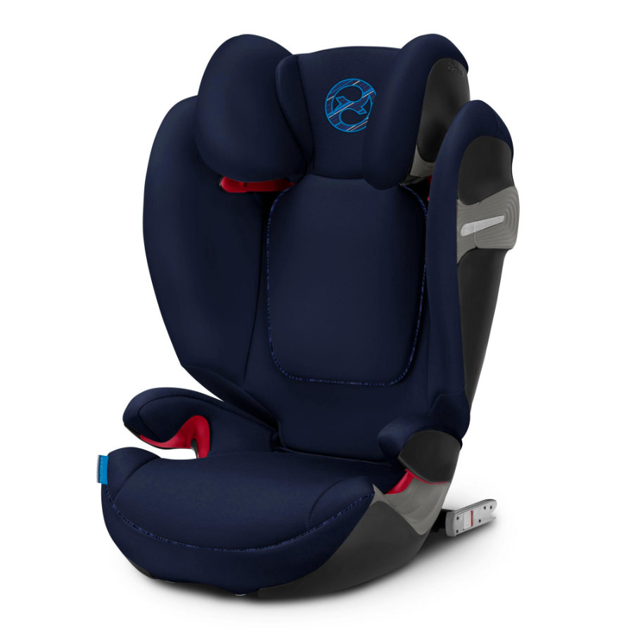 cybex GOLD Silla de coche Solution S-Fix Indigo Blue