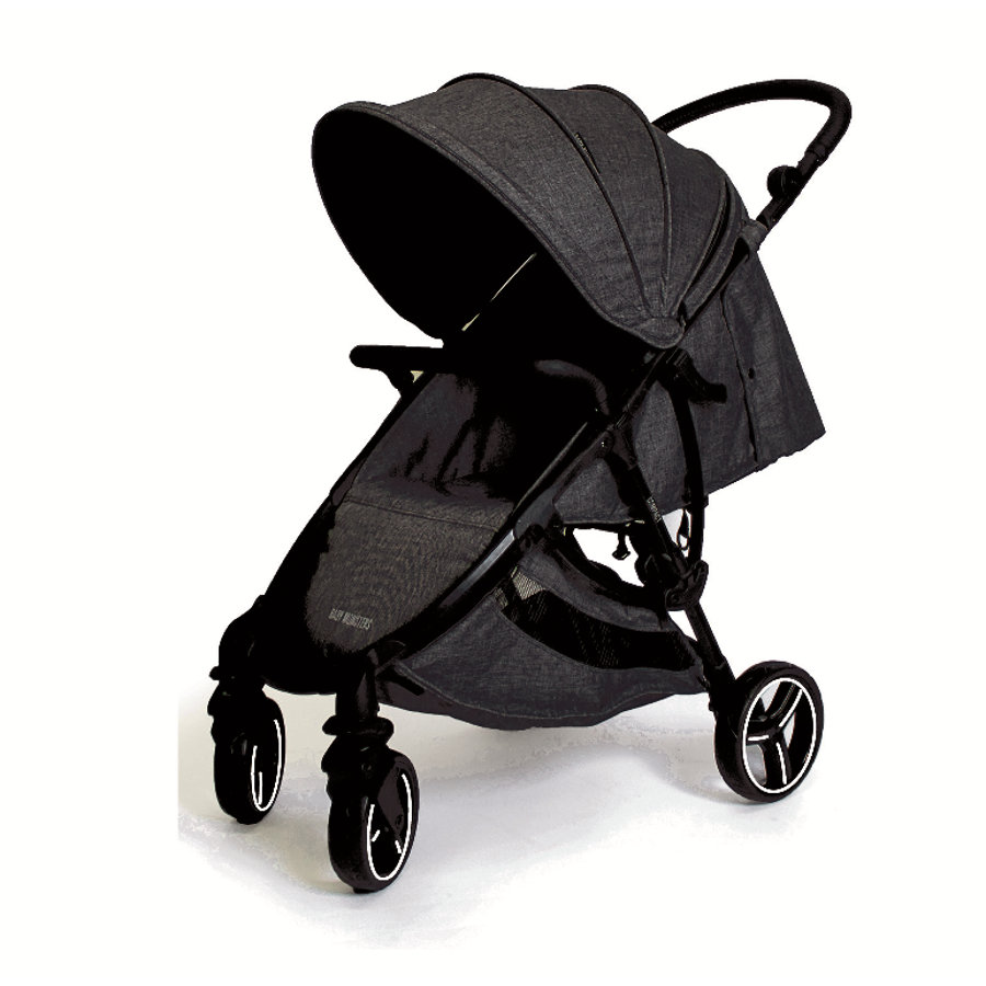 BABY MONSTERS Passeggino Compact 2.0 Black Limited Edition