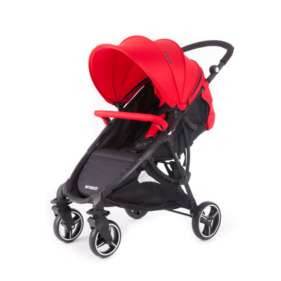 BABY MONSTERS Zestaw kolorystyczny do wózka Compact 2.0, Red