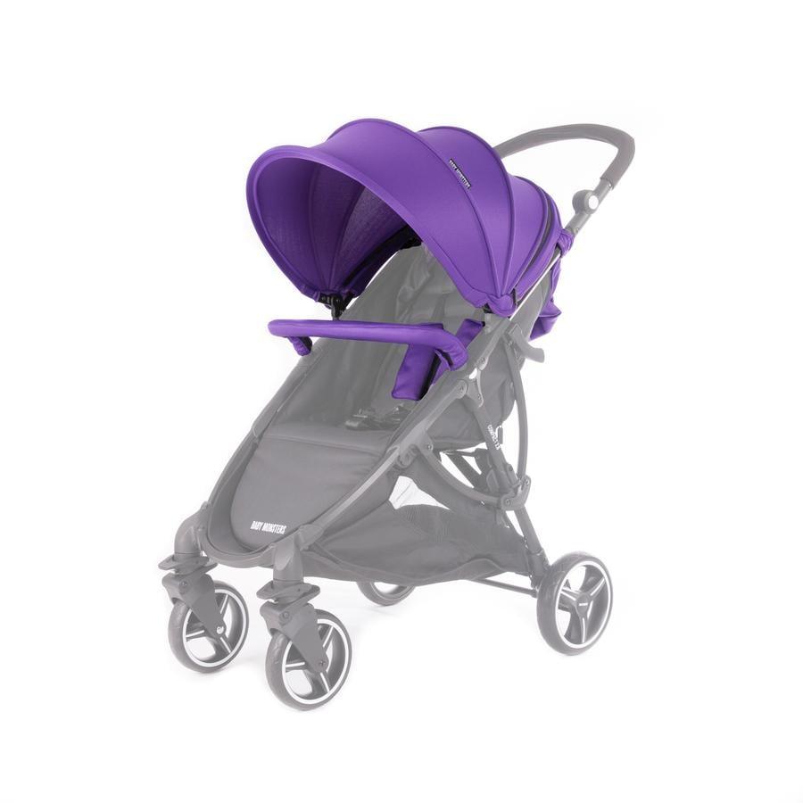BABY MONSTERS Zestaw kolorystyczny do wózka Compact 2.0, Purple