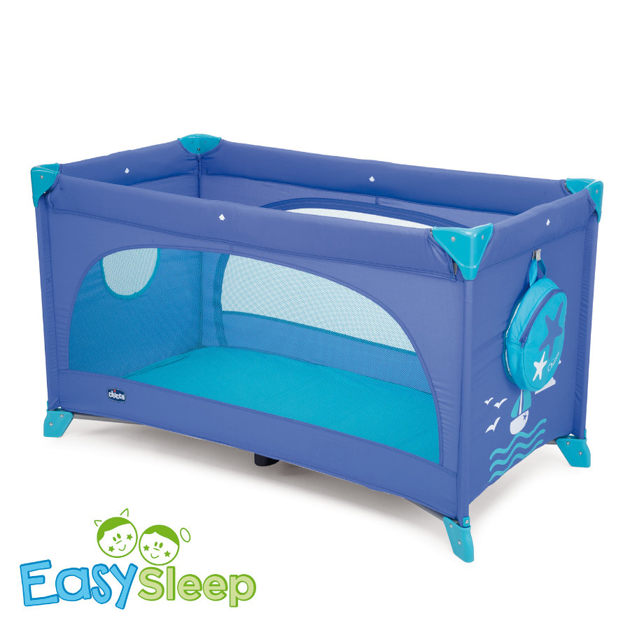 CHICCO Reisbed EASY SLEEP MARINE Collectie 2015