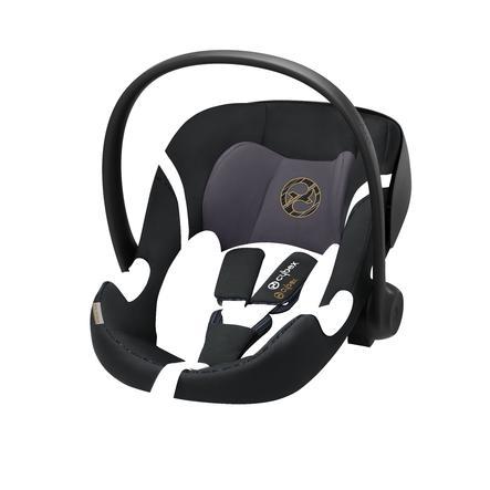 cybex GOLD Babyschale Aton M i-Size Premium Black