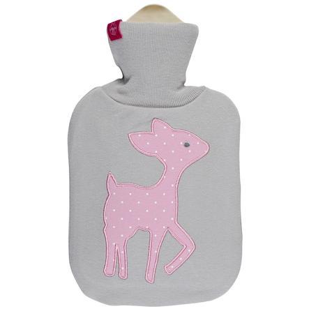LÄSSIG Wärmflasche Lela patch light pink