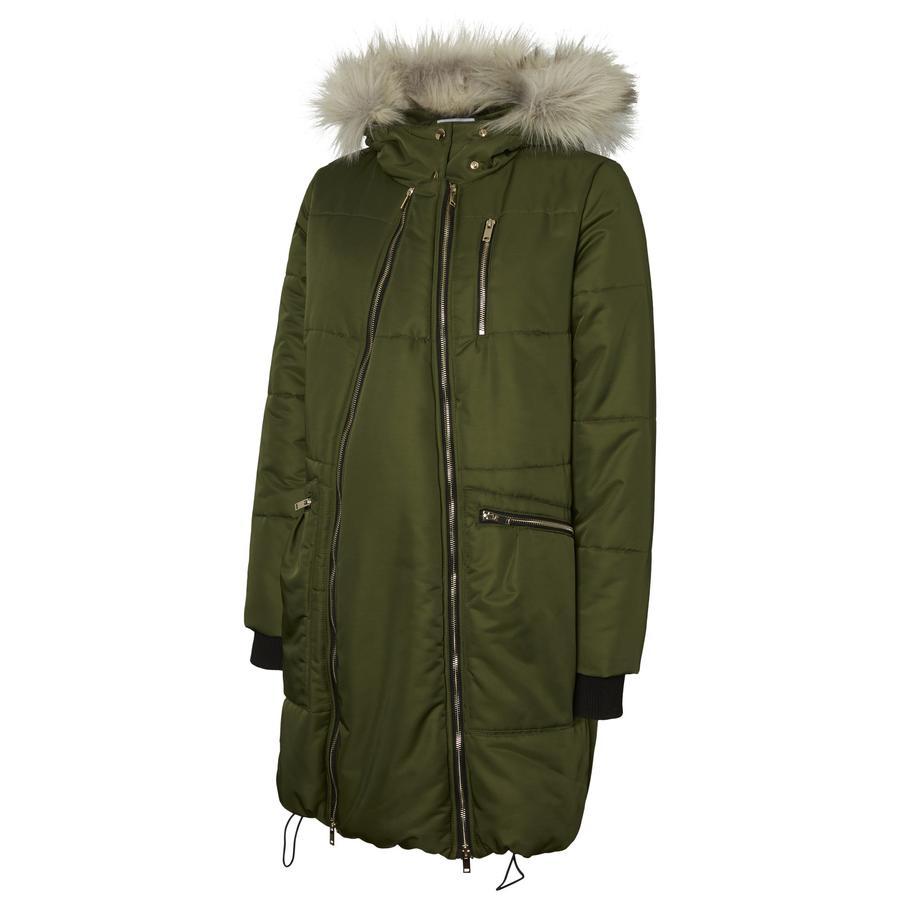 mama licious gravid coat MLJOYCE 2in1 Rifle Green