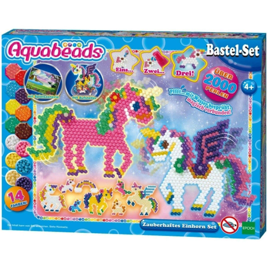 Aqua beads  Zestaw Magic Unicorn Set