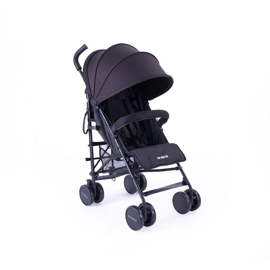 BABY MONSTERS Klapvogn Fast Black