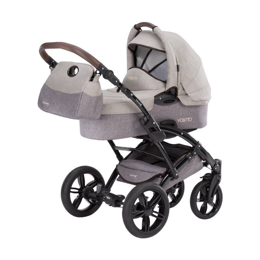 knorr-baby Barnevogn Voletto Happy Colour beige-brun