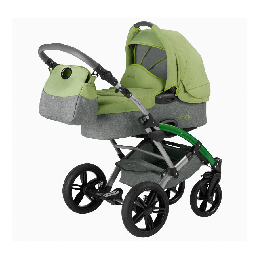 KNORR-baby Voletto Happy Colour 2016 grey-light green