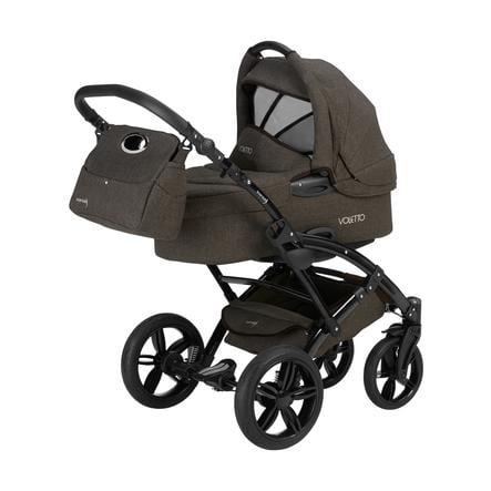 Knorr-Baby Kombivogn Voletto 3-i-1 brun