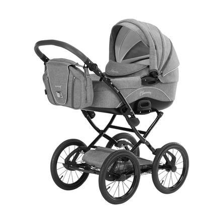 knorr-baby Kombikinderwagen Classico hellgrau