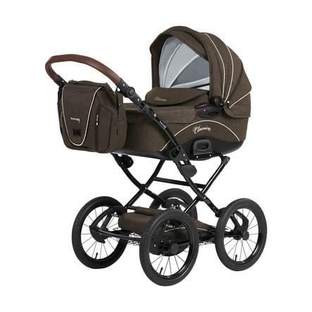Knorr-Baby cochecito combi Classico marrón