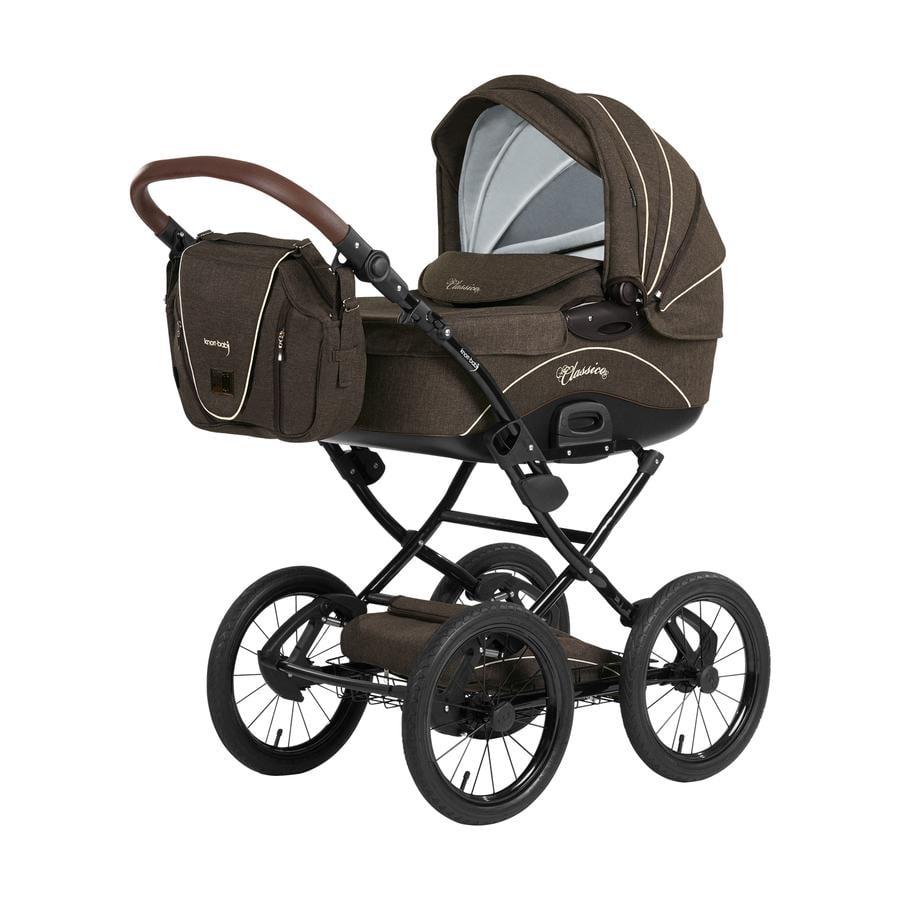knorr-baby Wózek dziecięcy Classico brązowy