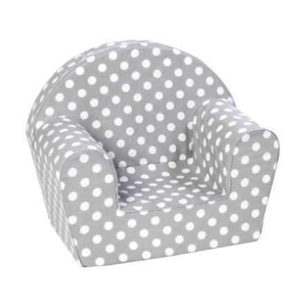 Knorr® Toys Børnelænestol - Dots grey