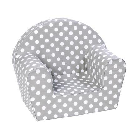 knorr® toys dětské křeslo - Dots grey