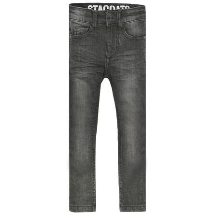 STACCATO Boys Jeans Magere grijze spijkerbroek in grijs denim