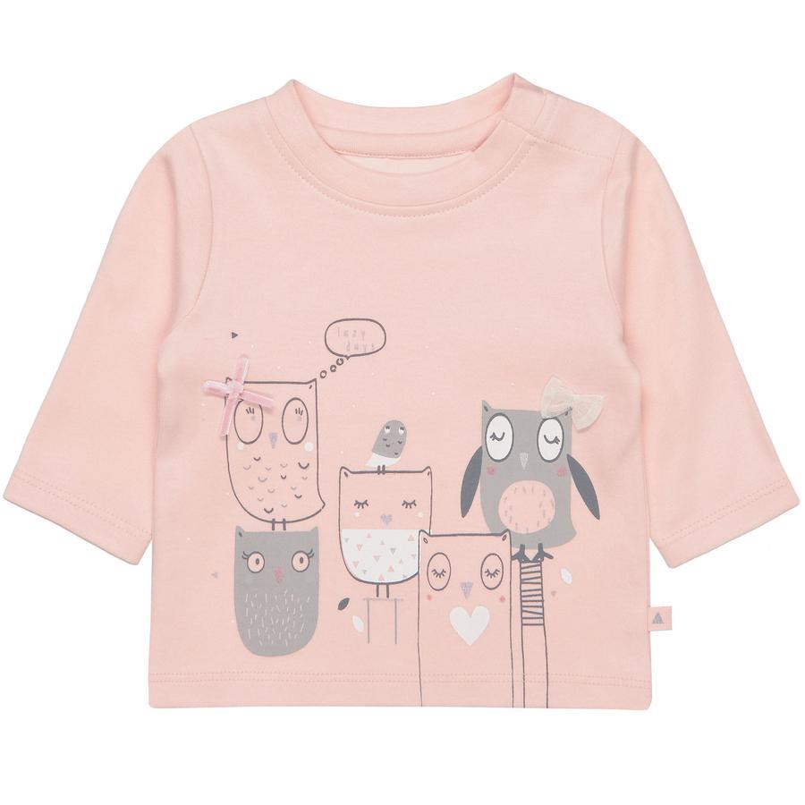 STACCATO Girl s camisa soft de manga larga colorete