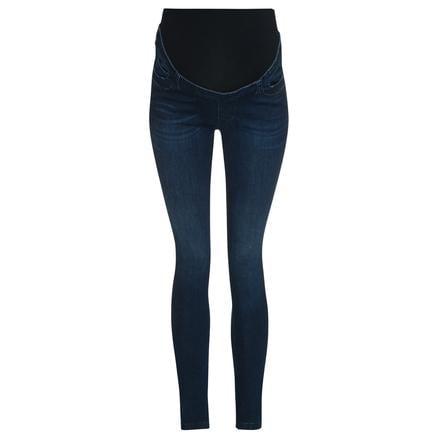 bellybutton slanke jeans met tailleband in donkerblauw denim
