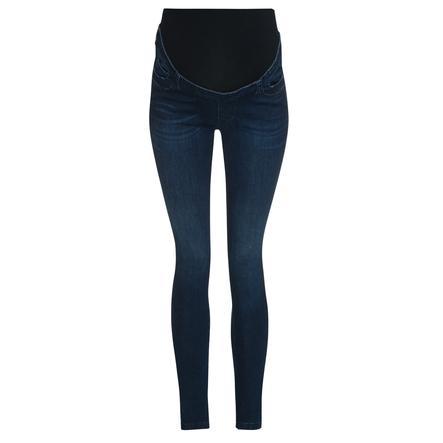 bellybutton wąskie dżinsy z pasem z ciemnoniebieskim dżinsem w pasie