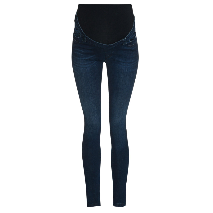 bellybutton  slim jeans med overbælte mørkeblå denim