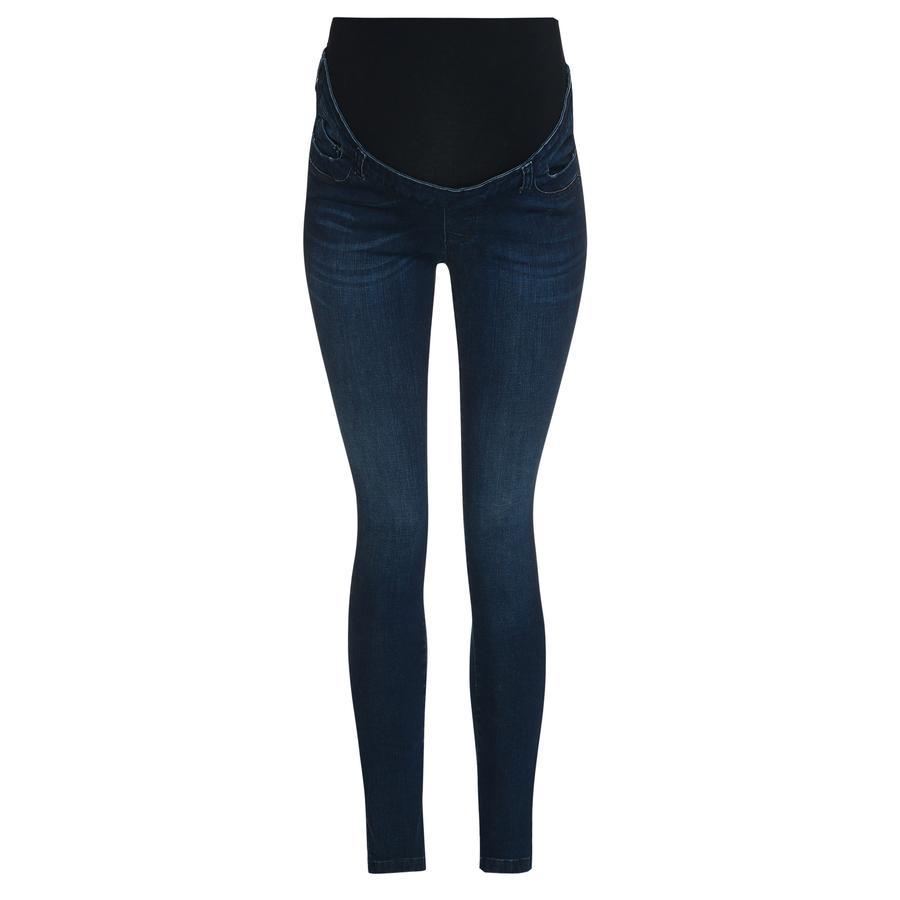bellybutton jeans slim con fascia in vita in denim blu scuro