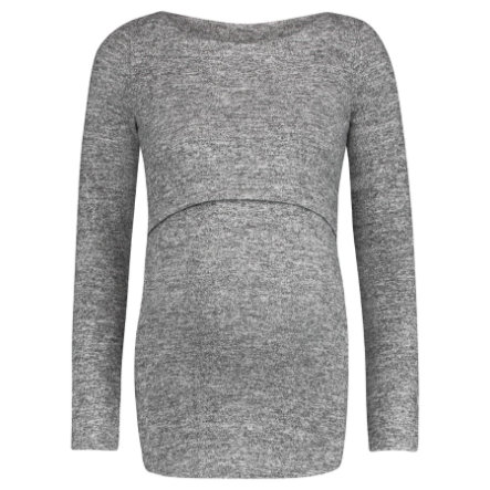 noppies Ošetřovatelská košile Lane Grey Melange