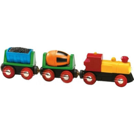 BRIO® WORLD Zug mit Batterielok