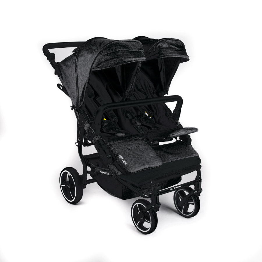 BABY MONSTERS Duowagen Easy Twin 3.0S Black Limited Edition