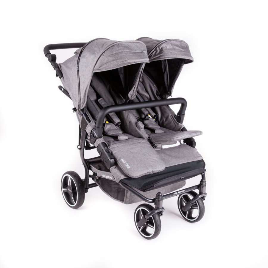 BABY MONSTERS Syskonvagn Easy Twin 3.0S Texas Limited Edition