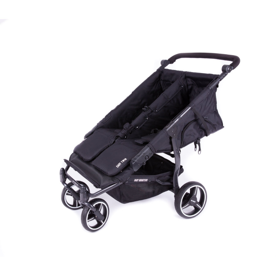BABY MONSTERS Duowagen Easy Twin 3.0S Black