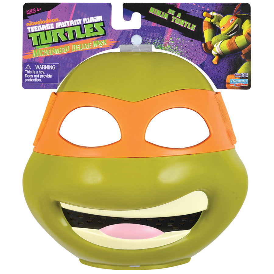 STADLBAUER Teenage Mutant Ninja Turtles  - Deluxe Maske - Mike