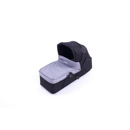 BABY MONSTERS Tablier pour nacelle de poussette Easy Twin gris heather