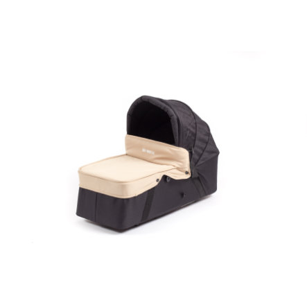 BABY MONSTERS Vindslag til barnevognskasse Easy Twin Sand
