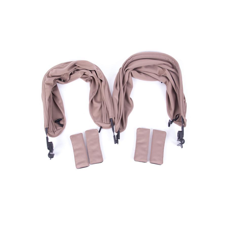 BABY MONSTERS Color Pack Tekstilsett til Easy Twin Taupe