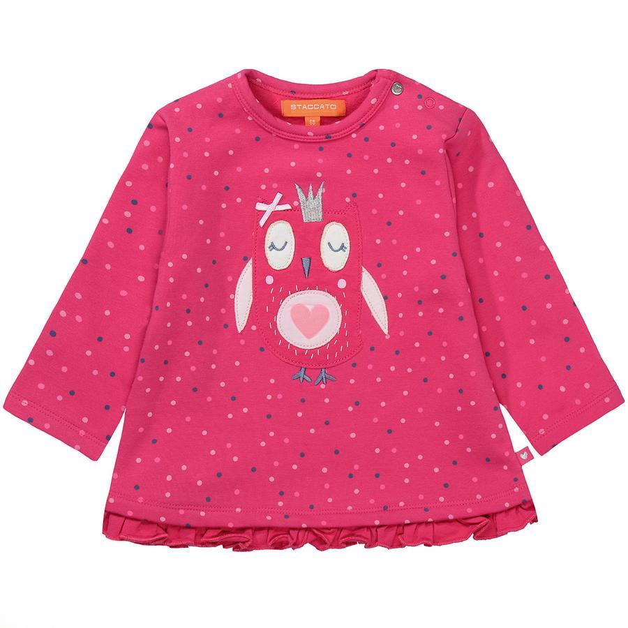 STACCATO Sweatshirt för flickor hallon