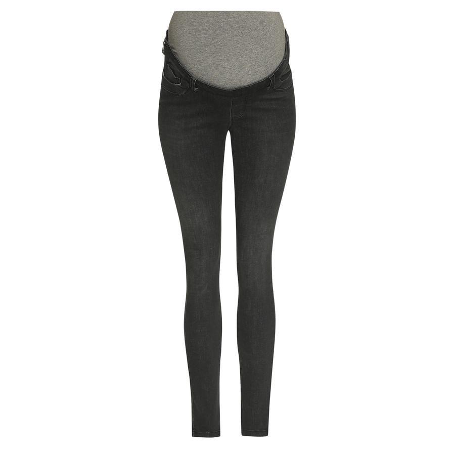 bellybutton  Jeans slim med over mave linning grå denim