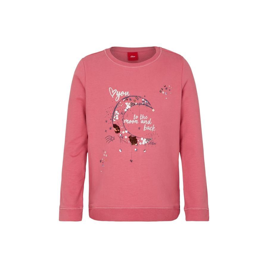 s.Oliver Girl s Sweatshirt roze