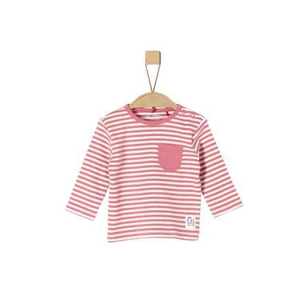 s.Oliver Langarmshirt pink Stripes