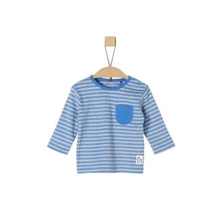 s. Olive r Košile s dlouhým rukávem modrá stripes