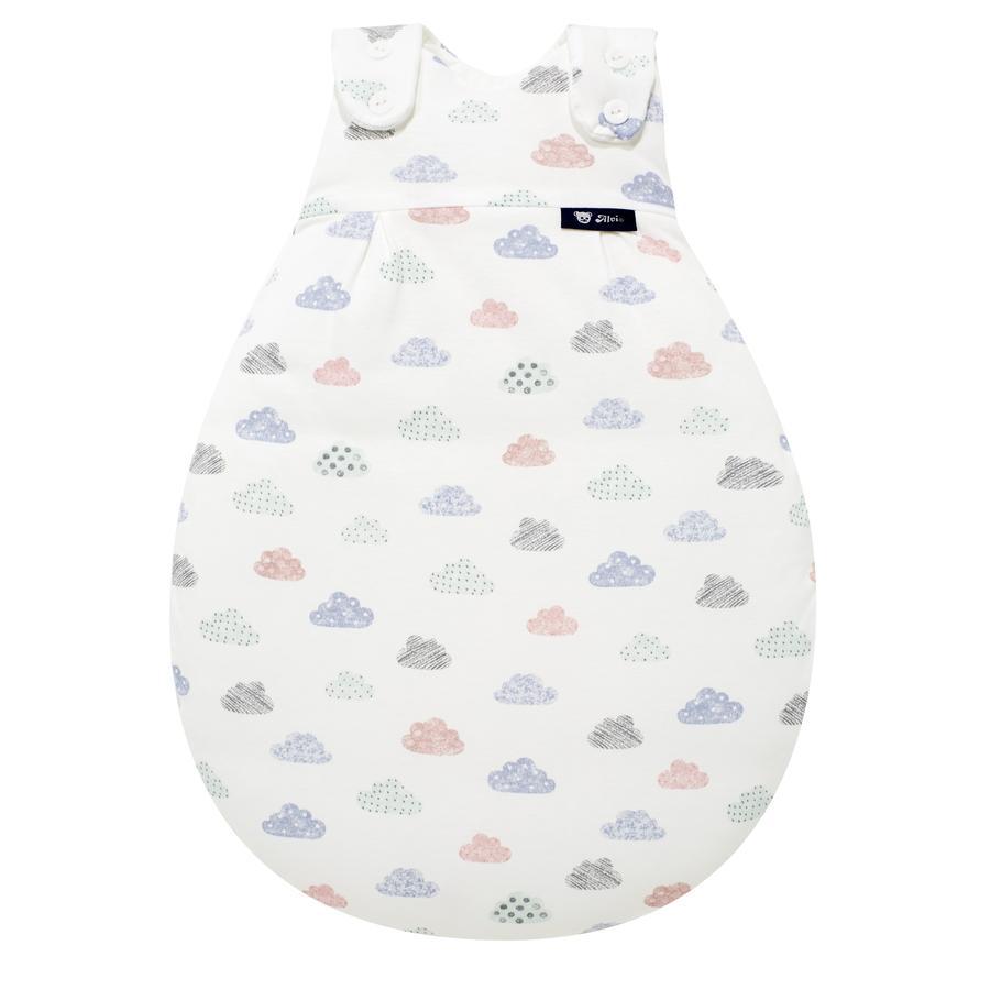s.Oliver by Alvi Baby Mäxchen® - das Original Außensack Happy Cloud weiß Exklusiv