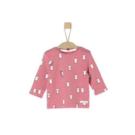 s.Oliver Chemise manches longues rose AOP
