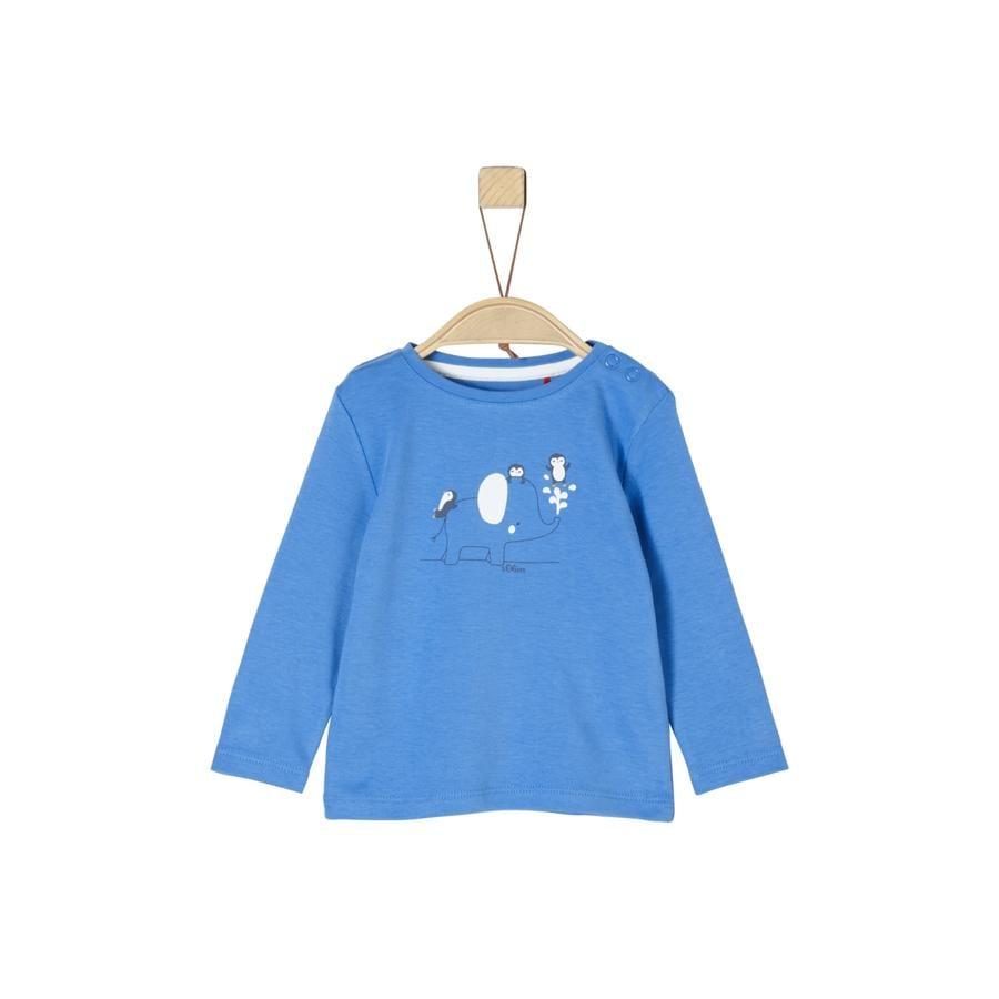 s. Oliver Pitkähihainen paita sininen