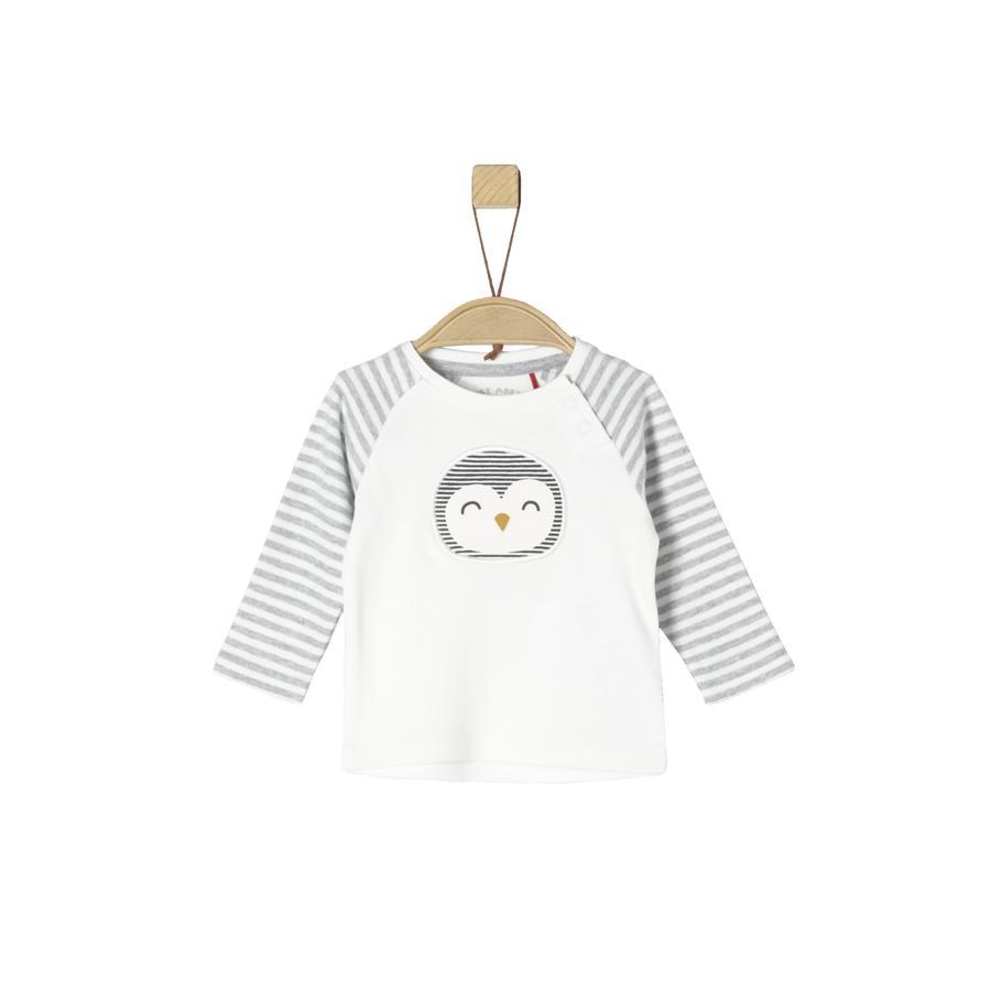 s.Oliver Girl s long sleeve shirt ecru