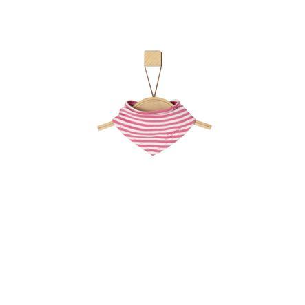s.Oliver Girl Trójkątny szalik, różowe paski.
