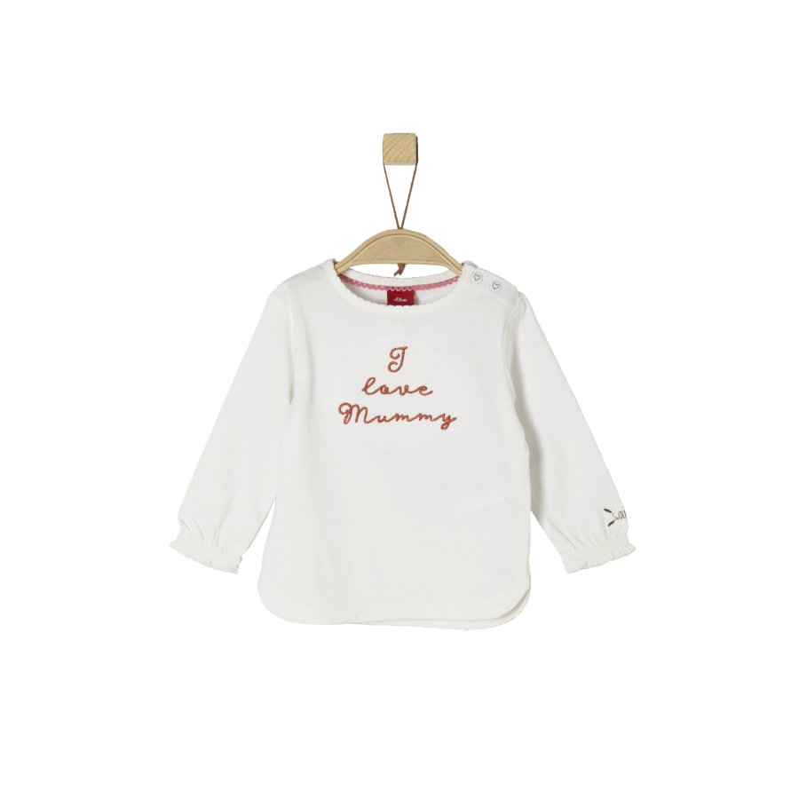 s.Oliver Girl s long sleeve shirt ecru
