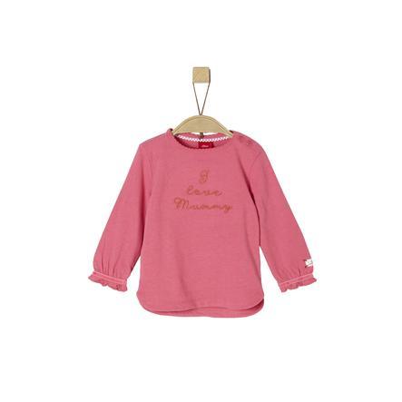 s.Oliver Girl s shirt met lange mouwen deeppink