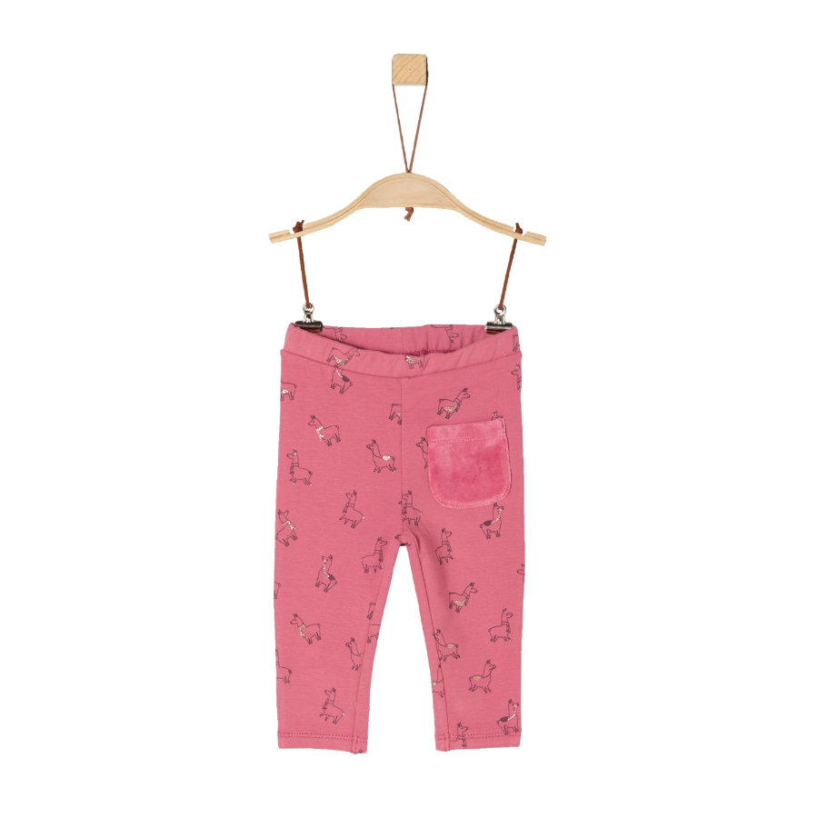 s.Oliver Girl s Pantaloni da ginnastica rosa