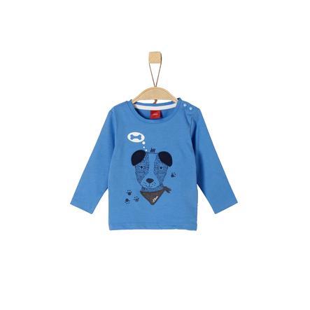 s.Oliver Boys Langarmshirt blue dog